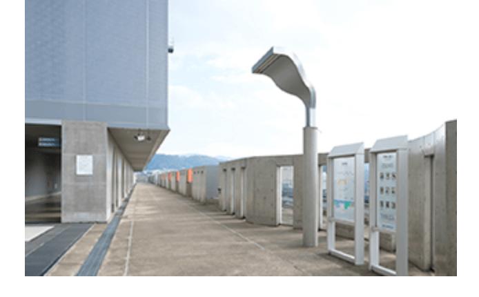 京都駅 無料喫煙スペース