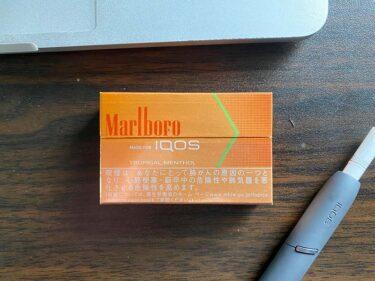 【IQOS】マールボロ トロピカルメンソールを吸ってみた!華やかなイメージとは真逆の大人しいミディアムメンソール!