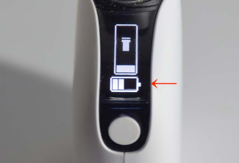 プルームテックプラスウィズ 電池 表示