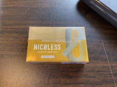【ニコレス】オレンジメンソールを吸ってみた!柑橘系+茶葉の苦味が不思議な味わい