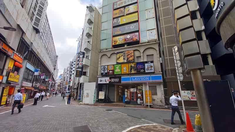 神田 南口 喫煙所