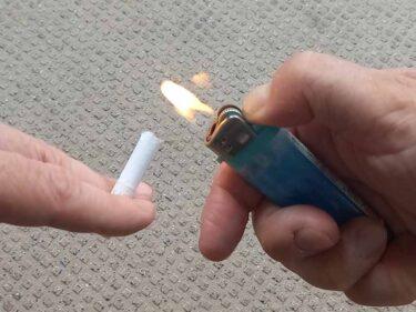 アイコスイルマで二度吸いや、火をつけても吸えるのか?いろんなテリアスティックで試してみると…