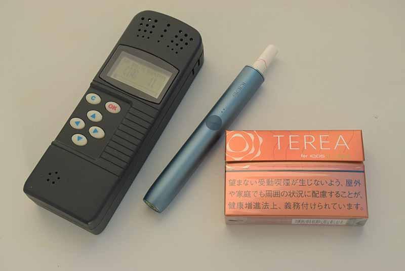 テリアトロピカルメンソールにおい測定
